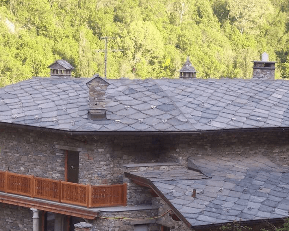 natural stone roofs